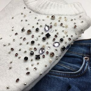 Sweaters - | just add sparkle sweater |